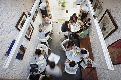 Mumbai's Artistic Cafe in a Converted Barn: Remodelista | creative photography | Scoop.it