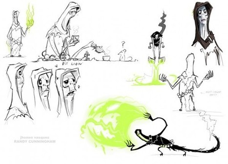 Jhonen Vázquez Designs For Randy Cunningham, 9th Grade Ninja | Animation News | Scoop.it