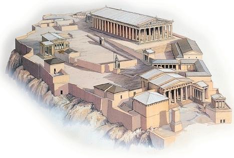 L'Acropole, le Parthènon et la Frise des Panathénées | Mundo Clásico | Scoop.it