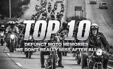 Top 10 Defunct Moto Memories We Don't Really Miss After All | California Flat Track Association (CFTA) | Scoop.it