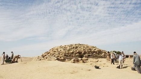 4600-year-old step pyramid uncovered in Egypt - Fox News | Ancient world crimes | Scoop.it