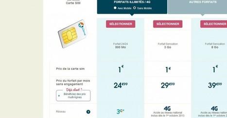 Bouygues Telecom va draguer les 800.000 utilisateurs iPhone 5 en France avec son réseau 4G spécifique | Geeks | Scoop.it