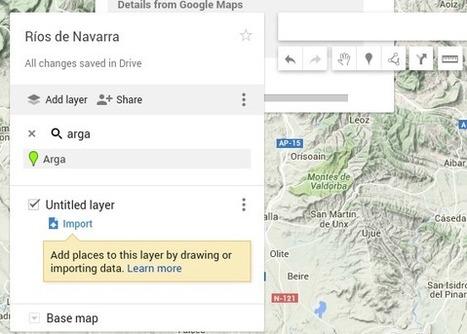 Personalizando mapas con las herramientas de Google | Educacion, ecologia y TIC | Scoop.it