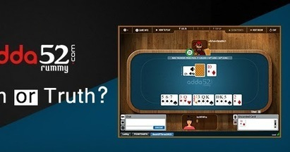 Online Rummy - A Myth Or Truth? | sscsworld | Scoop.it