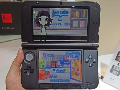 E-Book Reader For Kids On The Nintendo 3DS   Ebook and Publishing   Scoop.it