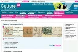 GénéInfos: Loir-et-Cher : les registres matricules sont en ligne | Auprès de nos Racines - Généalogie | Scoop.it