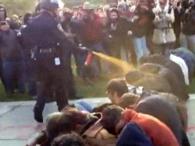 Pepper-sprayed UC Davis students awarded $1 mln — RT   Mouvement.   Scoop.it