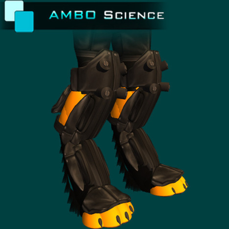 Digigrade Light Armored Boots by ASI | Teleport Hub | Second Life Freebies | Scoop.it