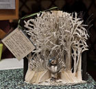 Edinburgh's mysterious book sculptures go on tour | Culture Scotland | Scoop.it