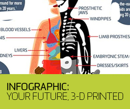 INFOGRAPHIC: Your Future, 3D Printed | Tech Nerd | Scoop.it