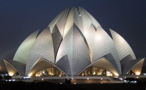 Lotus Temple: Place of worship in New Delhi ~ Tourist Places in India | SEO Traffic Engine | Scoop.it