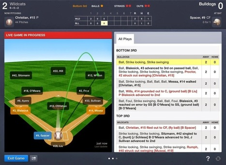 Bruce A. Sarte's Ed-Tech BLOG: Technology in Sports Education: Scorekeeping with GameChanger | Edtech PK-12 | Scoop.it