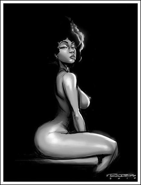 Les 15 Types de Femmes Noires. | les  nappy | Scoop.it