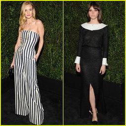 Rosie Huntington-Whiteley & Felicity Jones: Chanel Pre-Oscars ... | TAFT: Trends And Fashion Timeline | Scoop.it
