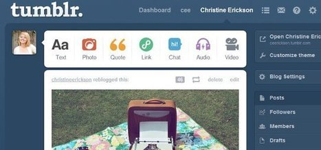 The Beginner's Guide to Tumblr | Mashable | Public Relations & Social Media Insight | Scoop.it