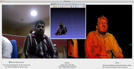 3D Scanner software using Kinect for OS X | BlenderNation (maybe iClone 5?) | Machinimania | Scoop.it