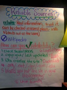 Identifying Reliable Sources and Citing Them | Scholastic.com | Transliterate | Scoop.it