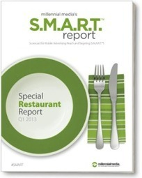 Millennial Media Shows Strong Link Between Mobile and Restaurants - Mobile Marketing Watch | Marketing in Geneva | Scoop.it