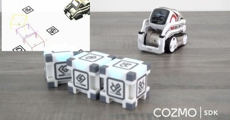Anki is opening Cozmo's SDK to makers, developers and educators | Heron | Scoop.it