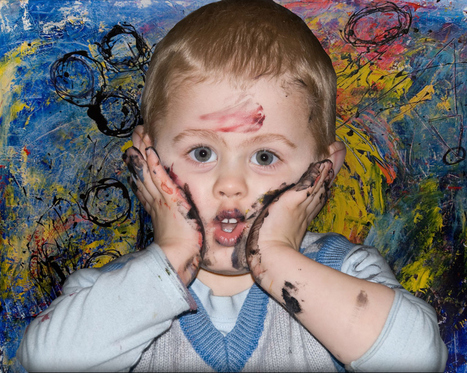 QUIZ: Can You Tell The Difference Between Modern Art And Paintings By Toddlers? | Tales of a Museum Marauder | Scoop.it
