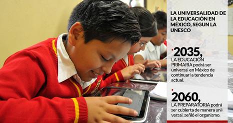 Unesco: Como va, México tendrá hasta 2035 primaria universal; en 2060, secundaria; y en 2100, prepa | Educacion, ecologia y TIC | Scoop.it