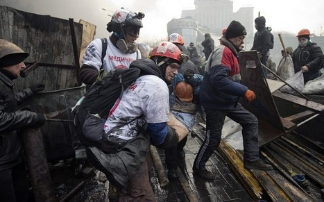 Ukraine crisis: Deadly snipers extinguish lives of Kiev's protesters - Telegraph | Mesopotamia | Scoop.it