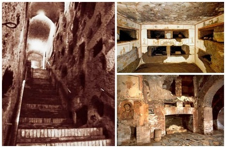 Catacombe di San Domitilla - Rome   Given Away, A Sicilian Upbringing. A Novel by Marianna Randazzo, Now Available   Scoop.it
