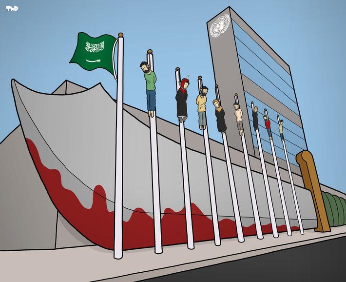 Avec l'Arabie Saoudite, les droits de l'homme sont entre de bonnes mains | Baie d'humour | Scoop.it