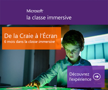 Microsoft Education - la classe immersive | TICE 15 | Scoop.it