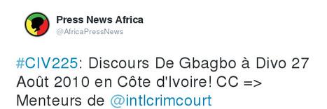 Discours De Gbagbo à Divo 27 Août 2010 en Côte d'Ivoire! | Actions Panafricaines | Scoop.it
