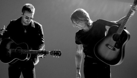 Keith Urban Releases Music Video For 'Raise 'Em Up' with Eric Church | Country Music Today | Scoop.it