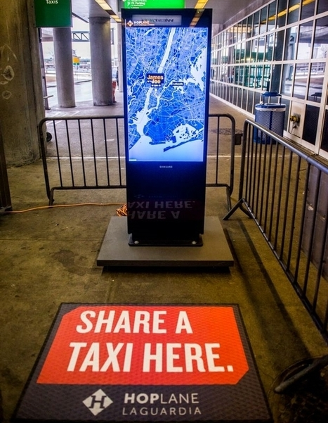 Taxis Go Communal: Bandwagon Brings Taxi Sharing to NYC   Taxi Sharing   Scoop.it