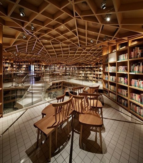A Travel Library Designed to Inspire Wanderlust | Spoon & Tamago | Libraries of the Future | Scoop.it