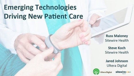 Embracing Wearables, IoT and Empowered Patients | #HITsm | Scoop.it