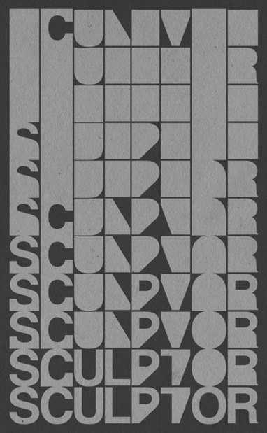60 Amazing Typography-Based Posters   Bluefaqs   Dessin   Scoop.it