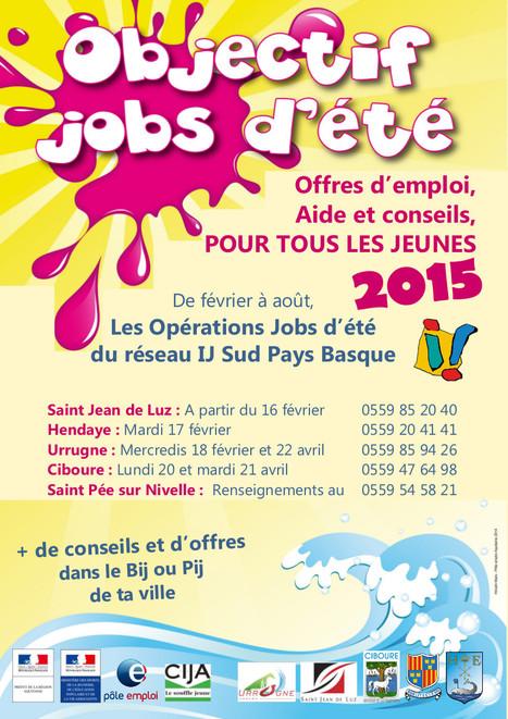 VILLE D'HENDAYE :: Jobs d'été : Une journée « spéciale Jeunes » pour préparer vos candidatures | BABinfo Emploi Pays Basque. | Scoop.it