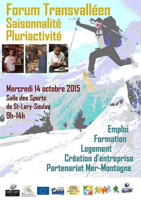 Le Forum pour l'emploi saisonnier se déroulera à Saint-Lary le 14 octobre | Vallée d'Aure - Pyrénées | Scoop.it