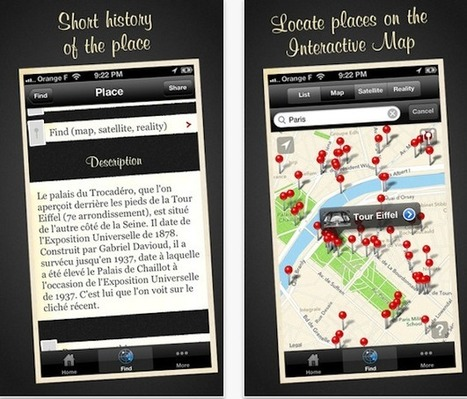 Time Travel Through Paris With Augmented Reality App - PSFK | by MENG members | Scoop.it