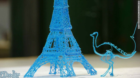 A 3-D Pen That Lets You Draw Objects in the Air | Digital Delights - Avatars, Virtual Worlds, Gamification | Scoop.it