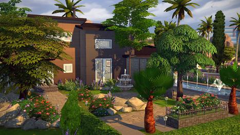 Bacchus maison pour les sims 4 for Maison sims 4 piscine