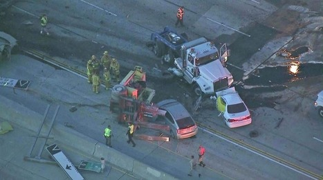 57 Freeway in Orange County reopens after deadly big rig crash | California Trucking Safety and Accident Claim News and Information | Scoop.it