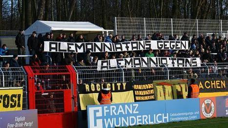 Antifascist Ultras from Aachen ACU disband desperately | Football Fans | Scoop.it