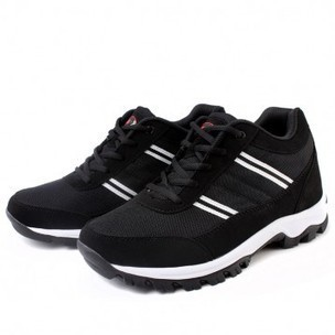 Black Urltra-Light Height Running shoes for Men Get Tall 7.5cm / 3inches Elevator Casual Sneakers cheap online sale at topoutshoes.com | sneaker elevator shoes for men height increasing sport shoes | Scoop.it