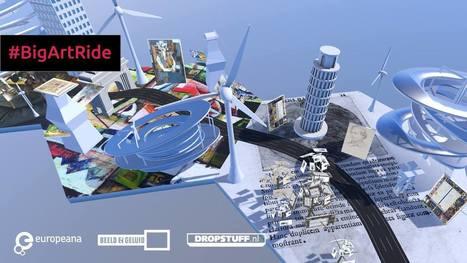 """Europeana fait le tour d'Europe avec """"Big Art Ride"""", une expérience immersive mêlant sport et art   Musées et numérique   Scoop.it"""