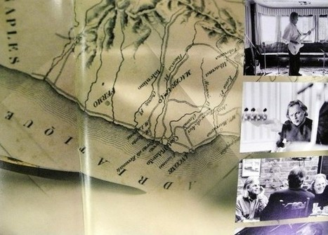 An ancient map of Marche region features on Pink Floyd's new album, - Thanks to the graphic designer living in the area! La mappa dei Pink Floyd  porta nel Maceratese Tracce a San Ginesio e Potenza... | Holidays in Marche | Scoop.it