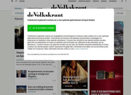 Europese data bescherming autoriteit wil af van cookie wall - Blokboek - Communication Nieuws | BlokBoek e-zine | Scoop.it