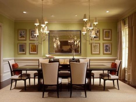 Identify the dining table shape that's right for you | Designing Interiors | Scoop.it
