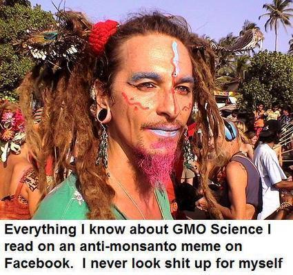 Todo lo que se de OGM lo aprendí en un Meme antimonsanto de Facebook | Humor racional | Scoop.it