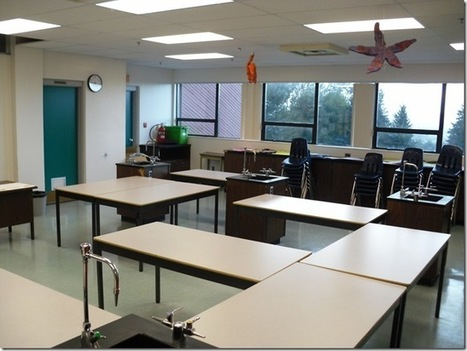 Take Your Learning With You Wherever You Go: Classroom Design Challenge 3: The Science Room | Pedagogy, Education, Technology | Scoop.it