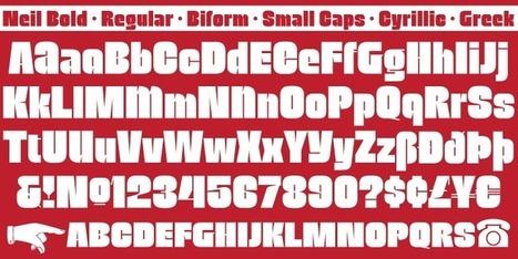Neil Bold™ - Webfont & Desktop font « MyFonts | Fuentes | Scoop.it